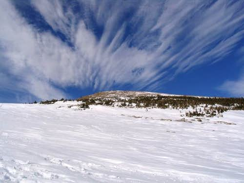 Clouds over Meadow Mountain, RMNP