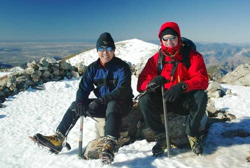 The Baldy Summit - Dec 18, 2004