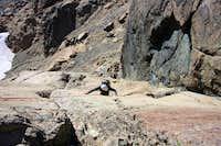 Fletcher Climbing...