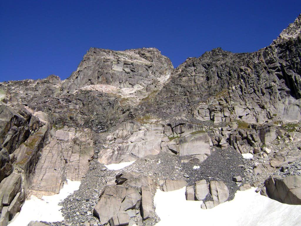 The Southwest Face of Mt Cowen-Absaroka range MT