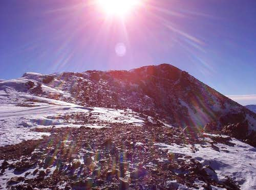 The summit of Elbert. A...