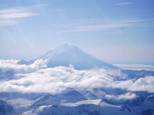 The tallest of the Aleutians-Mt Redoubt