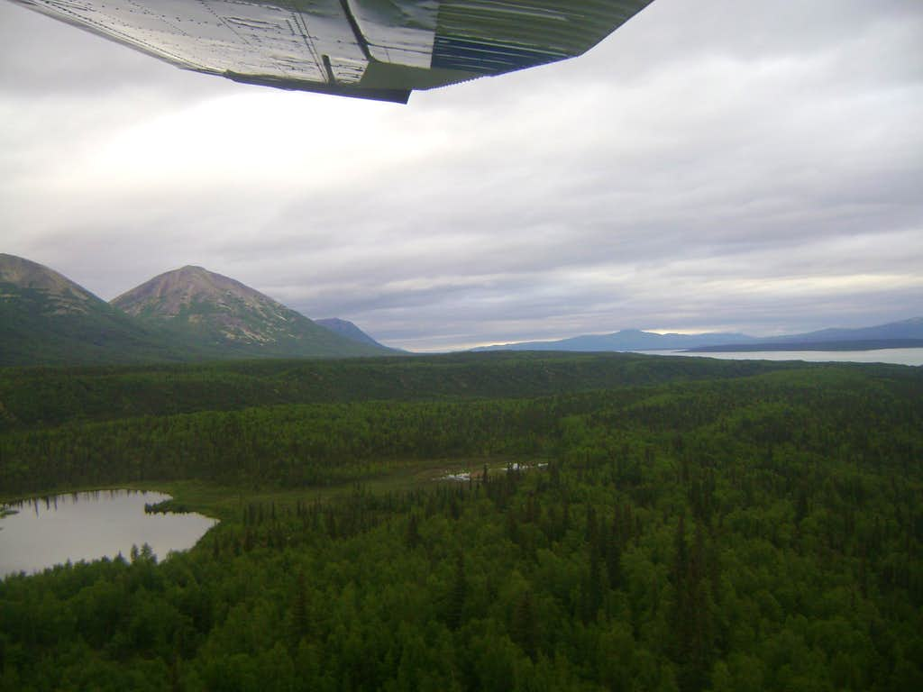 Flying into the wilderness