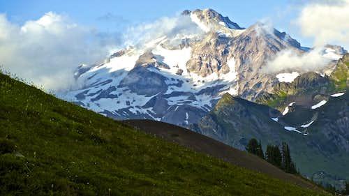 Glacier Peak from the Pacific Crest Trail