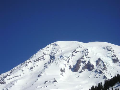 Mount Rainier-Collossus of the Cascade range.