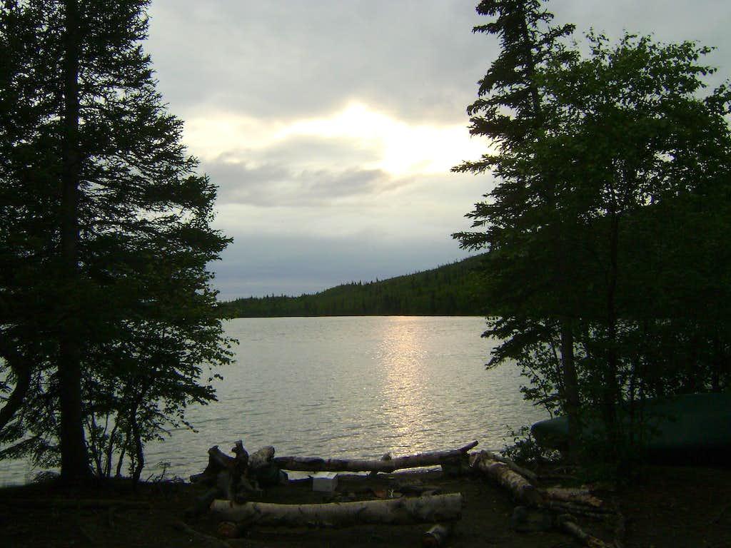 Lake Kontrashibuna-Lake Clark National Park Alaska