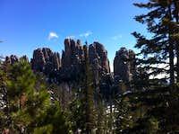 Cathedral spires - Black Hills, SD