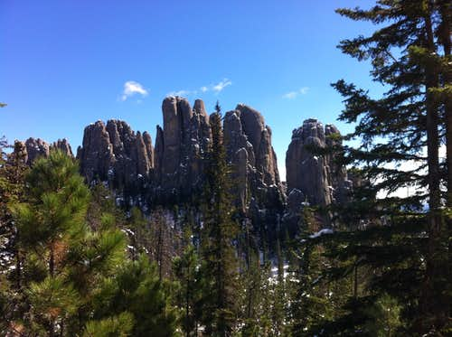Cathedral spires - Black Hills, SD