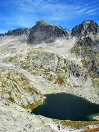 Typical post - glacial landscape of High Tatras