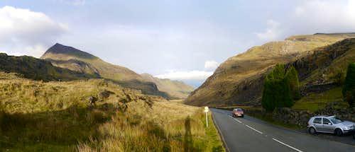 Crib Goch and the Llanberis Pass