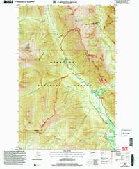 Mount David Topo