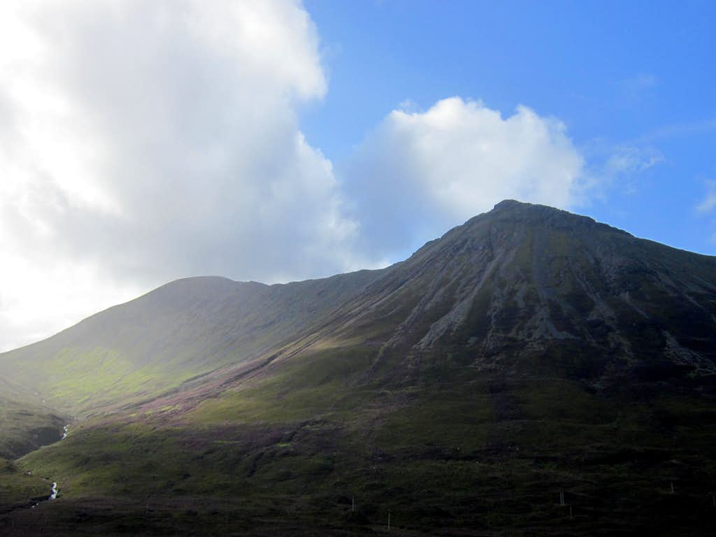 Glamaig from the east