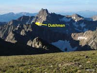 Hilgard Peak and Dutchman Peak