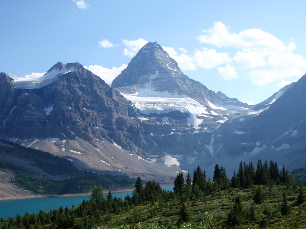 Mt. Assiniboine and Lake Magog