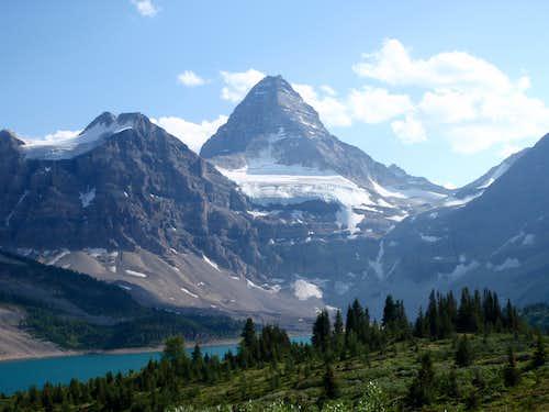 Mt. Assiniboine and Lake Magog