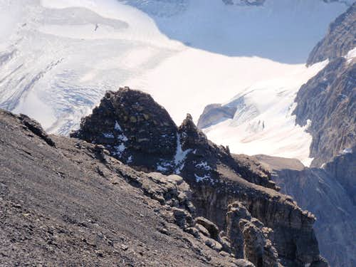 Lunette Peak and Eon Glacier