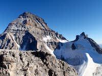 Mt. Assiniboine (l) and Mt. Sturdee (r)