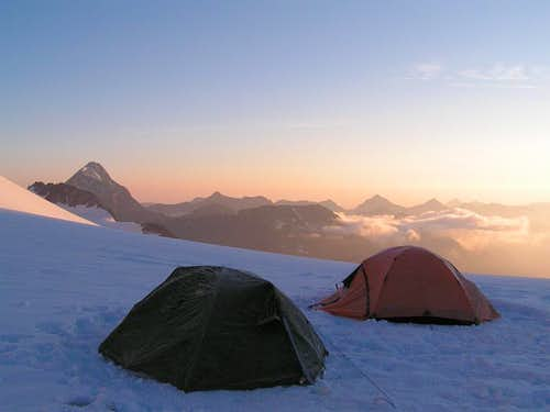 Camp on Belukha