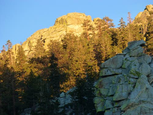 Taylor Dome - west face
