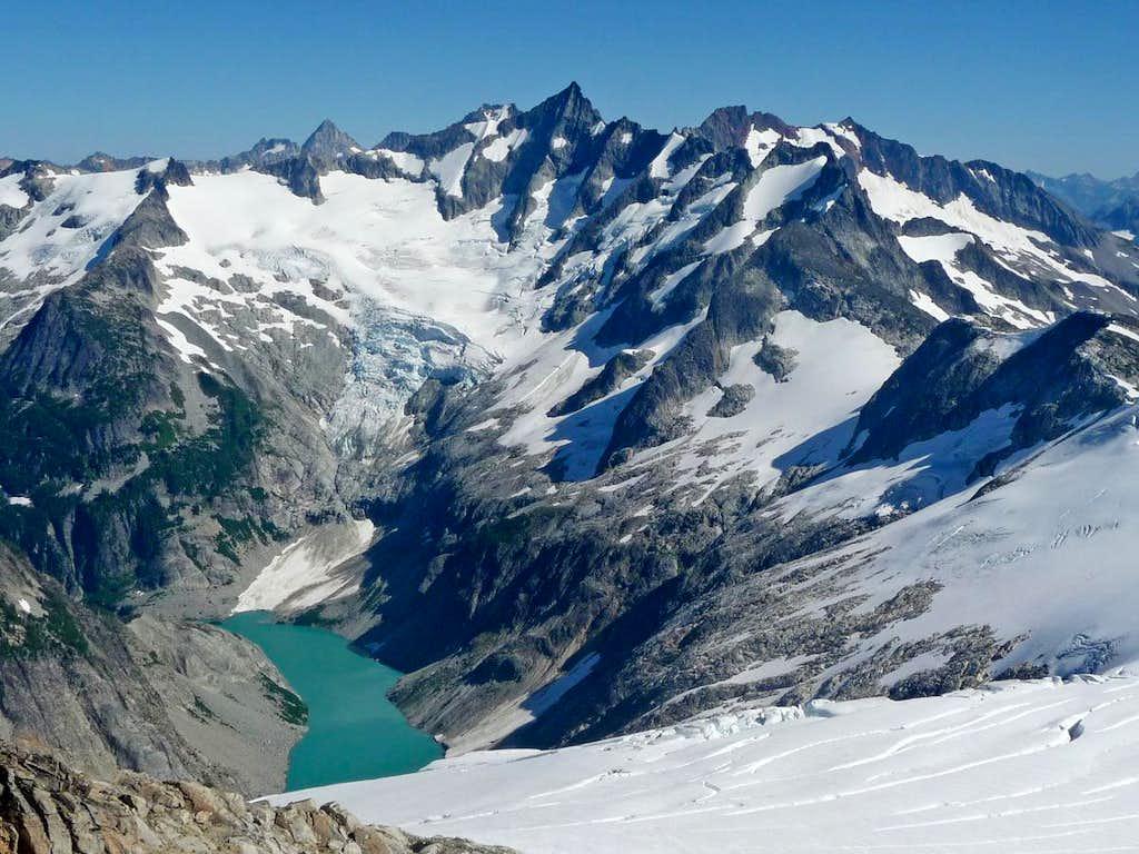 West Face of Forbidden Peak