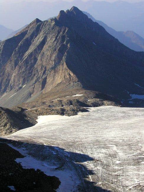 The ridge of Kendlspitze from...