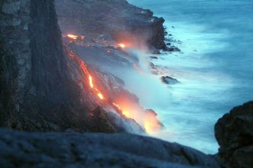 Lava on the Big Island