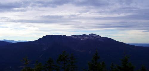 Mt. Pilchuck from Green Mountain s middle summit