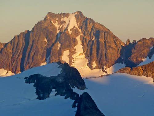 Sunset on Buckner's North Face