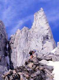 High up on Serra2, Mt. Waddington area
