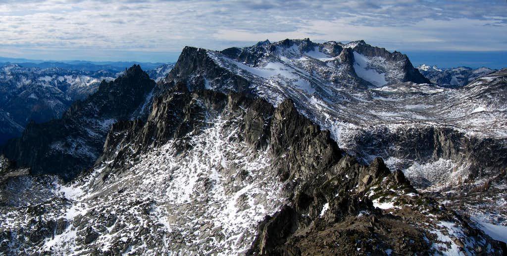Dragontail Peak...