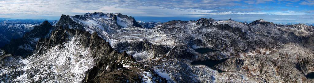 McClellan Summit Panorama