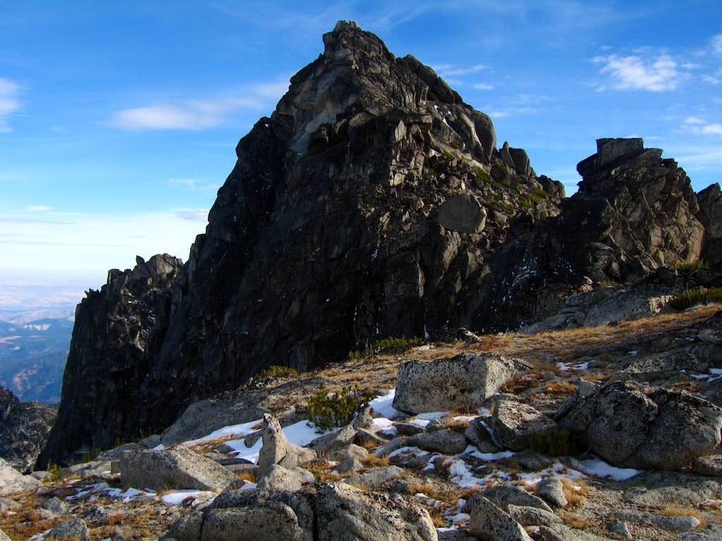 McClellan Peak summit block