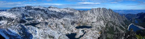 McClellan Peak summit pano