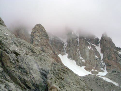 The Grand Teton-Seen from the approach to the South Teton