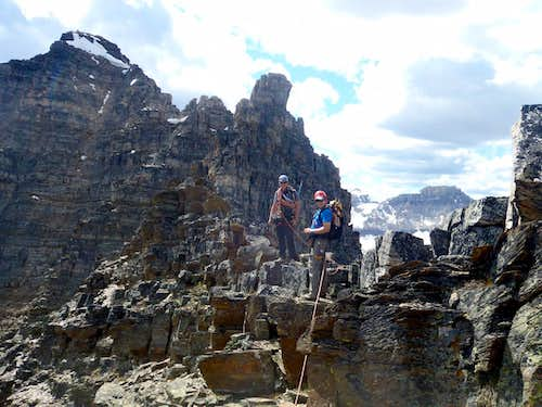 Mount Bell Banff NE Ridge 5.3