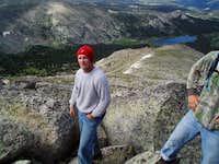 Tucker Winget climbing...