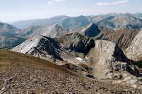 The summit of Cusick Mountain...