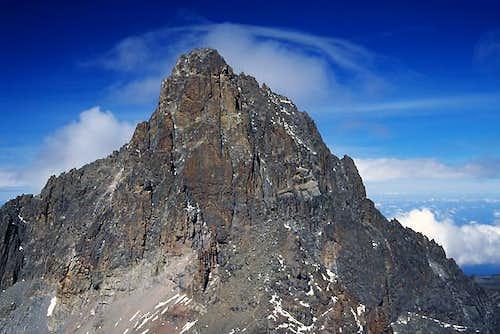 Mt Kenya's second highest...