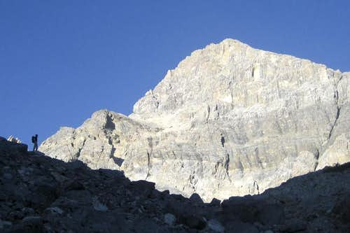 Mountaineers Route (East Face Mt. Idaho)