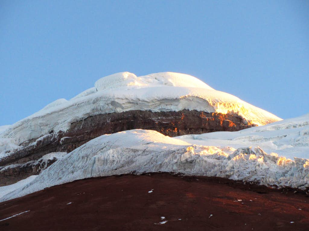Sunset on Cotopaxi