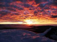 Sunrise on Cotopaxi