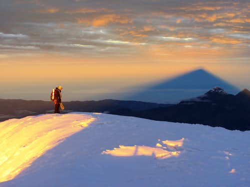 William and Cotopaxi's shadow