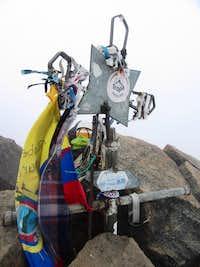 Summit of Illinizas Norte