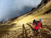 Descending Illinizas Norte