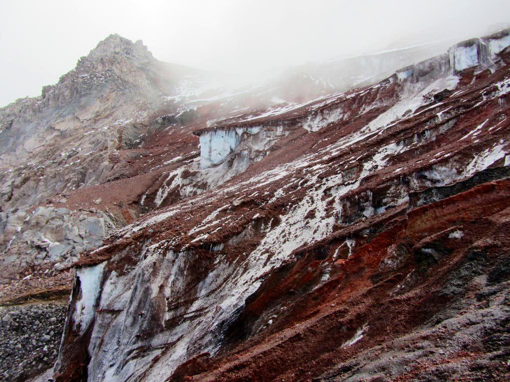 Lower slopes of Chimborazo