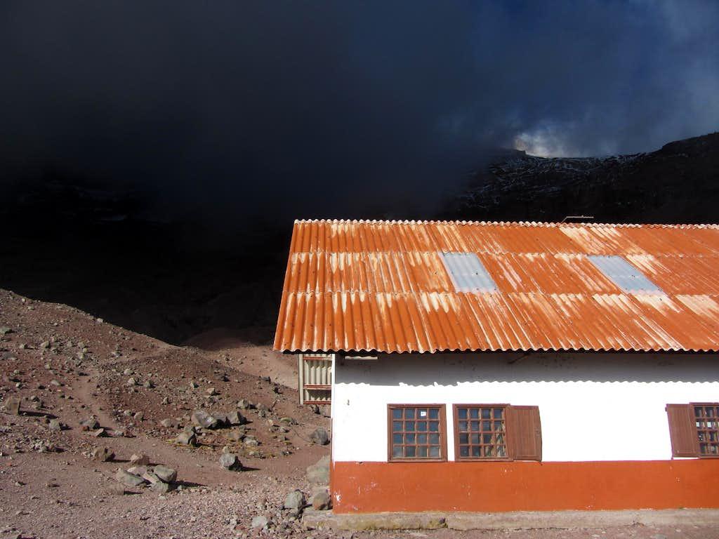 Whymper Refugio on Chimborazo