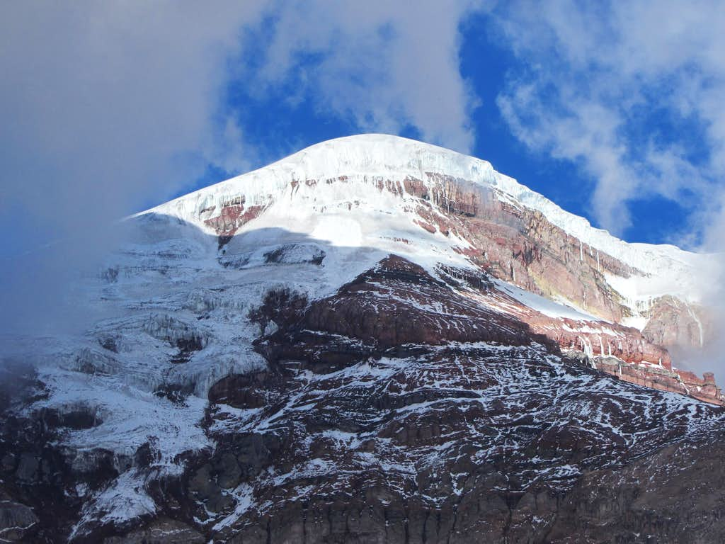 Chimborazo (summit hidden)