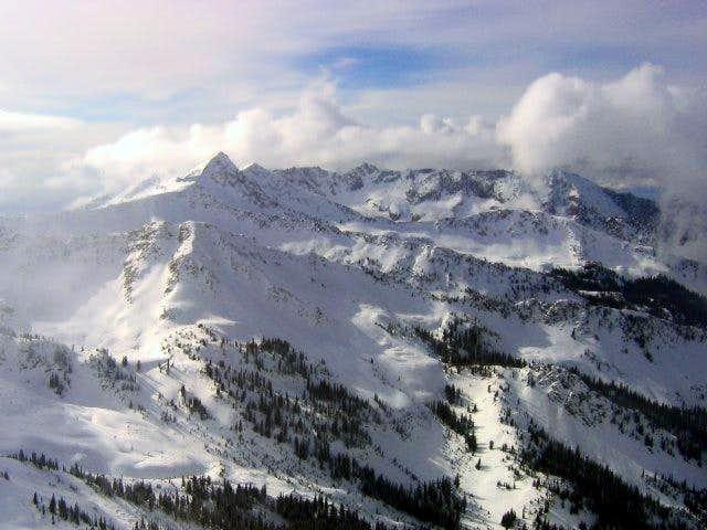 View of the Pfiefferhorn as...