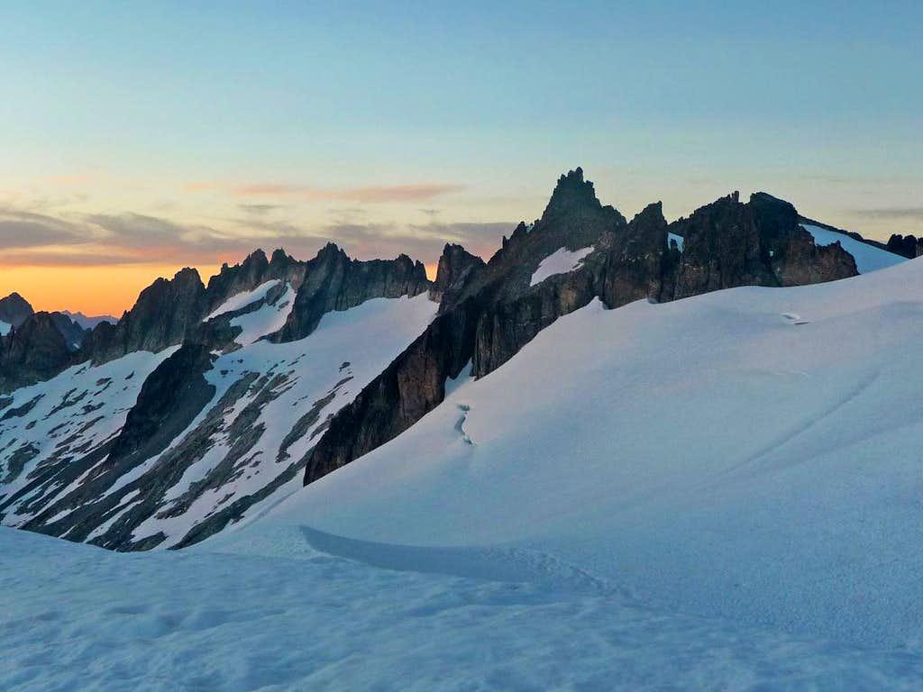 Evening Light on Austera Peak