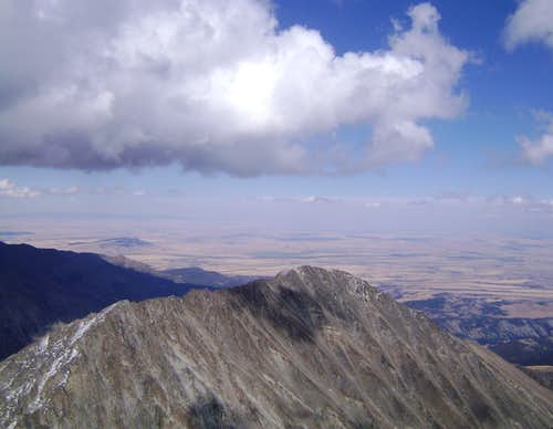 The edge of the Great Plains-Crazy Mountains, Montana